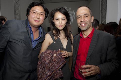 Geoff Leong, Rinko Kikuchi, Asia House's Sumi Ghose